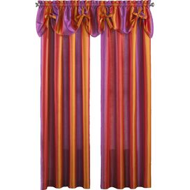 Rainbow Ombre Curtain Panel in Pink