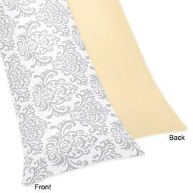 Cotton Body Pillowcase in Yellow