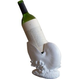 Nautilus Shell Wine Holder