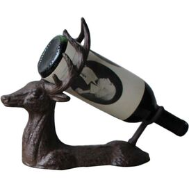 Deer Wine Holder in Brown