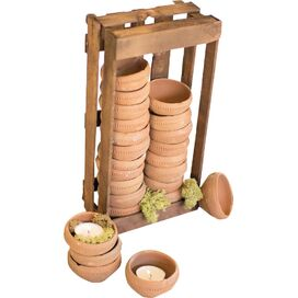 25-Piece Crate & Pot Set
