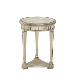 Rebecca Mirrored Accent Table