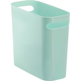 Double-Handled Wastebasket in Mint