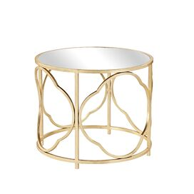 Glendale Mirrored End Table