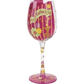 Happy Mother's Day Wine Glass