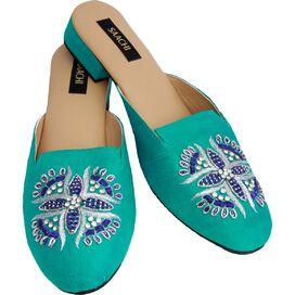 Ani Slip-On Silk Shoes