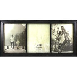 Longwood Picture Frame in Rustic Black