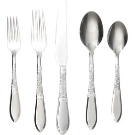 20-Piece Galleon Flatware Set