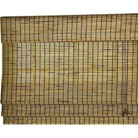 2-Piece Bamboo Roman Shade & Valance Set