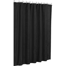 Hoyt Shower Curtain in Black