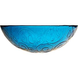 Mediterranean Serving Bowl in Cornflower Blue