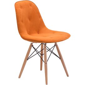 Zorine Side Chair in Orange