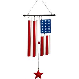 Stars & Stripes Windchime