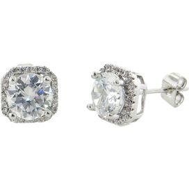 5-Karat Sterling Silver-Plated Earrings