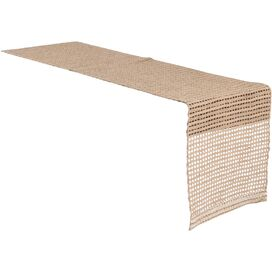 Burlap Table Runner in Natural