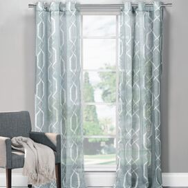 Arcadia Curtain Panel in Grey