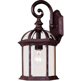 Katelynn Outdoor Wall Lantern in Rustic Bronze