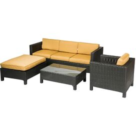 4-Piece Jarvis Sunbrella Seating Group