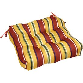 Olson Patio Chair Cushion in Carnival Stripe