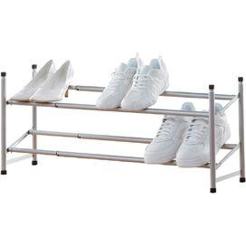 2-Tier Expandable Shoe Rack