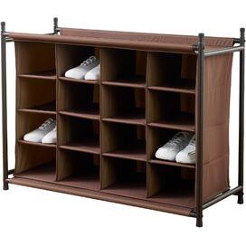 16-Compartment Shoe Organizer