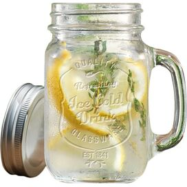 Delia Mason Drinking Jar (Set of 4)