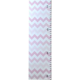 Chevron Growth Chart in Pink