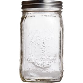 Ball Wide-Mouth Mason Jar (Set of 12)
