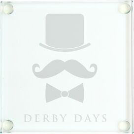 Derby Days Glass Coaster (Set of 4)