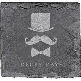 Derby Days Slate Coaster (Set of 4)