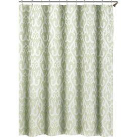 Martina Shower Curtain in Seafoam Green