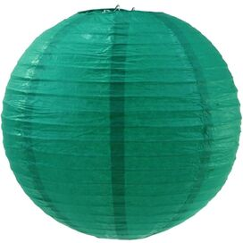 Carmen Paper Lantern in Emerald Green