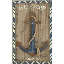 Welcome Aboard Wall Decor