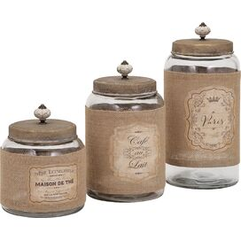 3-Piece Carley Jar Set