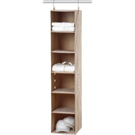 6-Shelf Hanging Closet Organizer