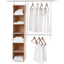 2-Piece Closet Organizer System