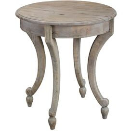 Shannon Side Table in Gray Wash