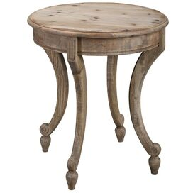 Shannon Side Table in Natural Wax
