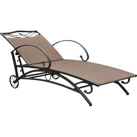 Valencia Patio Chaise in Antique Brown