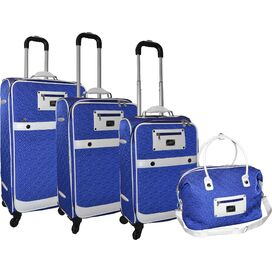 Adrienne Vittadini 4-Piece Luggage Collection