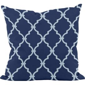Everett Pillow in Navy (Set of 2)