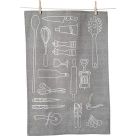 Kitchen Tools Tea Towel (Set of 2)