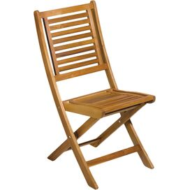 Capri Teak Folding Chair (Set of 2)