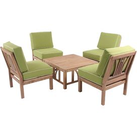 5-Piece Andi Teak Seating Group