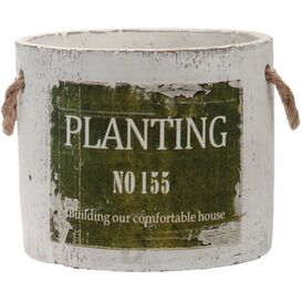 "Roland 6"" Pot in Green"