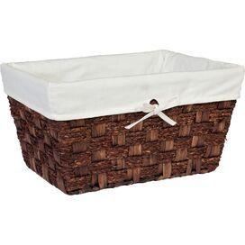 Corn Husk Storage Basket