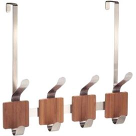 Bamboo Over-Door Rack