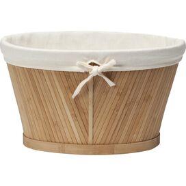 Bamboo & Cotton Storage Basket