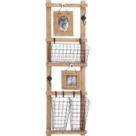 3-Basket Wall Rack