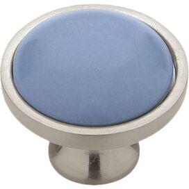 Augustine Cabinet Knob in Stone Blue